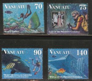 VANUATU Scott 693-696 MNH** set