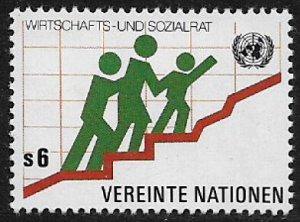 UN, Vienna #16 MNH Stamp - Family