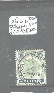 MALAYA PAHANG  (PP1105B) TIGER 50C SG 22 PEKAN SON CDS  SCARCE