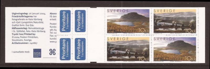 Sweden scott #2479 cmplt bklt m/nh stock #35401