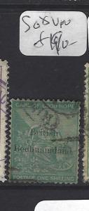 BECHUANALAND (P1910B)   ON CAPE  1/-   SG 8   VFU