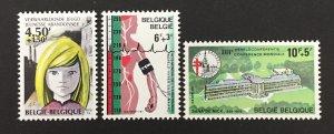 Belgium 1978 #B963-5, Medicine, MNH