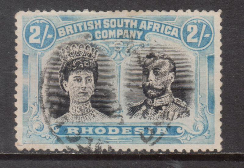 Rhodesia #112 Very Fine Used