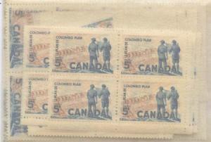 Canada - 1961 Colombo Plan X 100 mint #394