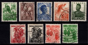 Papua New Guinea 1952/1958 various issues [Used]