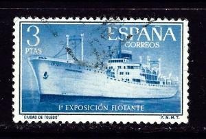 Spain 848 Used 1956 ship
