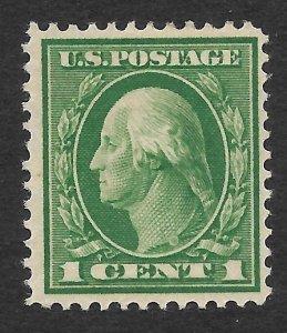 Doyle's_Stamps: Nice MH 1912 1c Washington Issue,  Scott  #405*