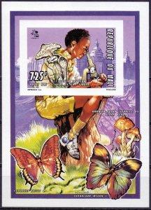 Mali. 1995. lbl 1356. Butterfly scouts. MNH.