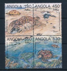 [31427] Angola 1993 Marine Life Turtles MNH