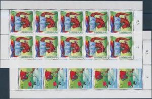 Luxemburg stamp Europa CEPT childrens books minisheet set MNH 2010 WS165088