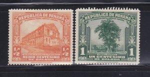 Panama 278-279 MHR Various