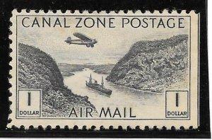 Canal Zone Scott #C14 Mint $1 Plane/Canal 2016 CV $9.00