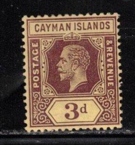 CAYMAN ISLANDS Scott # 45 MH - KGV Definitive