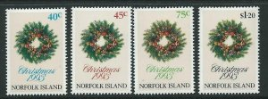 NORFOLK ISLAND SG556/9 1993 CHRISTMAS MNH