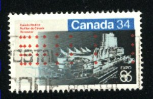 Can #1078   -1  used VF 1986 PD