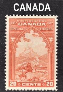 Canada Scott E3  VF to XF mint OG HH.