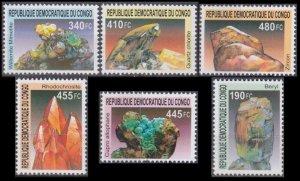 2002 Congo (Kinshasa) 1713-1718 Minerals 24,00 €