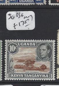 KENYA, UGANDA AND TANGANYIKA   (P0205B) KGVI 10C  SG 136    MOG