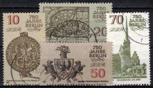 Germany - DDR - Scott 2546-2549