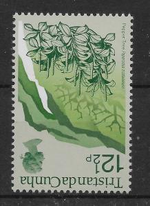 TRISTAN DA CUNHA SG166w 1972 12½p DEFINITIVE WMK INVERTED MNH
