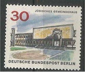 BERLIN, 1966, MNH 30pf Jewish Community Scott 9N226