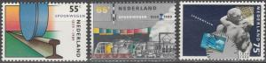 Netherlands #746-8  MNH (S6800)