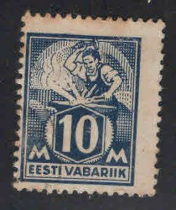 Estonia Scott 72 perf tips toned at top no gum from 1922-25 set