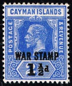 UK STAMP Cayman Islands  1907 SURCHARGED MH/OG STAMPS SUPERB