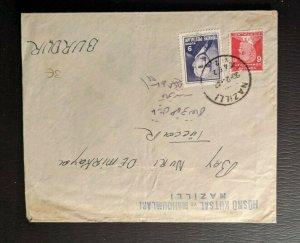 1948 Nazilla Turkey Cover to Burdur Turkey