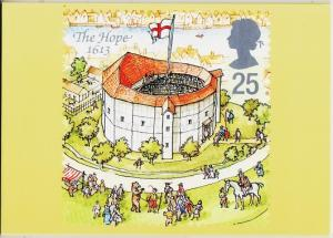 Great Britain. 1995 Shakespeare's Globe. PHQ Cards(5) Unused