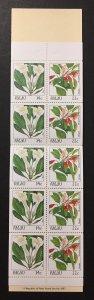 Palau 1987 #132b Booklet, Flowers, MNH.