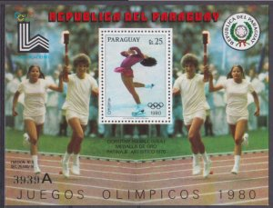 1979 Paraguay 3184/B338(A) 1980 Olympic Games in Lake Placid 20,00 €
