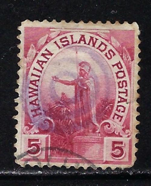 Hawaii 76 Used 1894 Issue