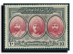 Pakistan-Bahawalpur Scott 15