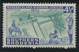 Southern Rhodesia  SG 74  SC# 77 MNH Centenary  Cecil Rhodes see details