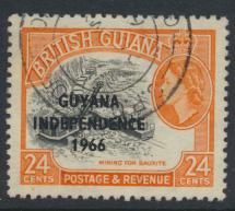 Guyana Independence 1966 SG 403 Used