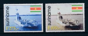 [SU982] Suriname Surinam 1998 Ferries  MNH