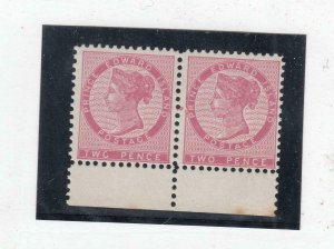 PRINCE EDWARD ISLAND # 5f VF-MNH 2cts PAIR VARIETY TWC For TWO FREE SHIP