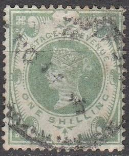 Great Britain #122 F-VF Used CV $72.50 (A15966)