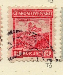 Czechoslovakia 1926-27 Issue Fine Used 1.50k. NW-148606