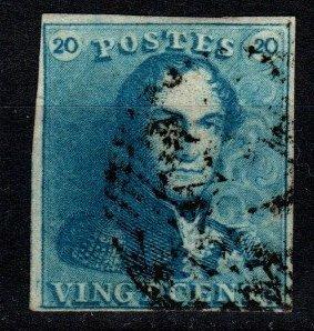 Belgium #2 F-VF Used CV $57.50 (X9606)