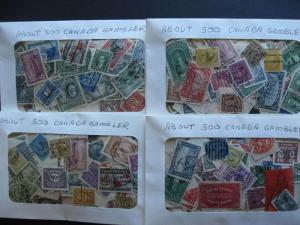 CANADA gambler mixture (heavy duplication,mixed cond) 2000 mostly 1900-49 era!