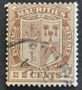 DYNAMITE Stamps: Mauritius Scott #162 – USED