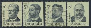 Australia SG 446 - 449 Used