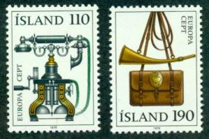 Iceland #515-516  MNH  CV$10.25  Europa