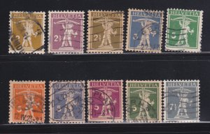 Switzerland 153-162 U William Tell's Son