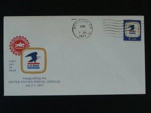 inauguration of USPS in Porto Puerto Rico 1971 cover 77493