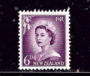 New Zealand 311 MH 1955 Queen Elizabeth