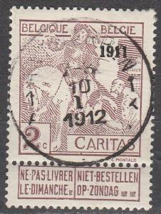 Belgium #B10  F-VF Used CV $72.50