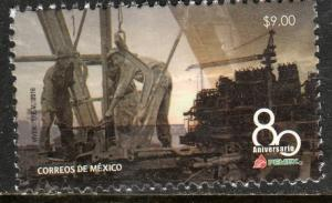 MEXICO 3095, 80th ANNIVERSARY OIL INDUSTRY.. MINT, NH. F-VF.